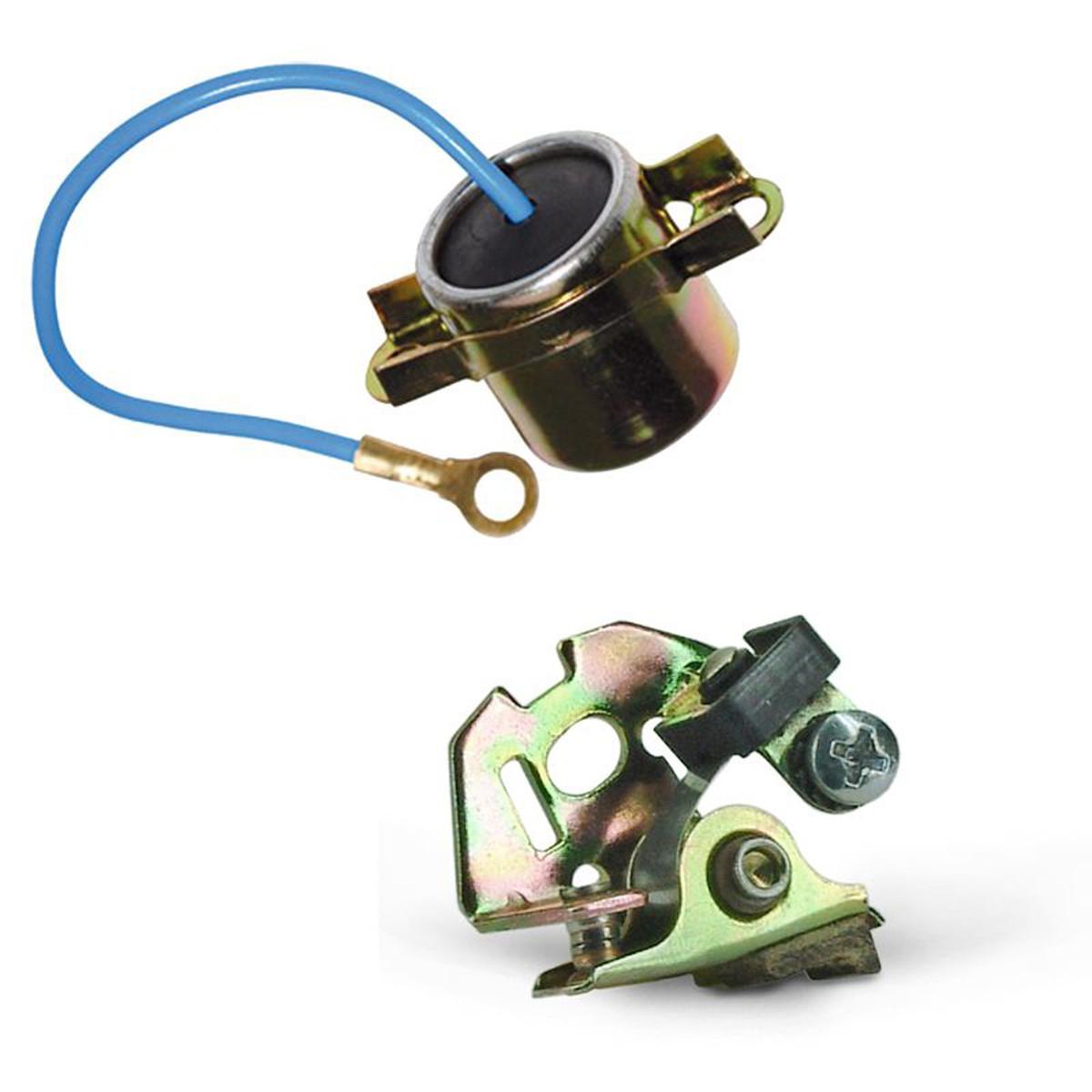 Rupteur + Condensateur Allumage Cyclo MBK, MOTOBECANE, MOTOCONFORT