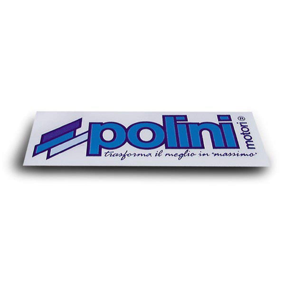 Autocollant 12x4cm - POLINI