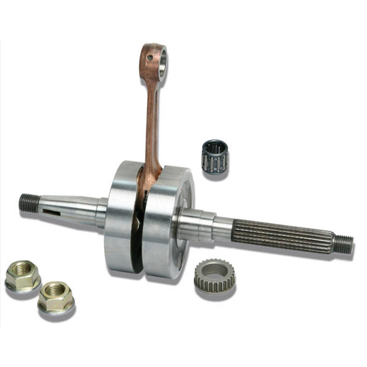 Vilebrequin PIAGGIO LC Bielle 85 Axe 12mm - MALOSSI MHR RHQ /// Bixess™