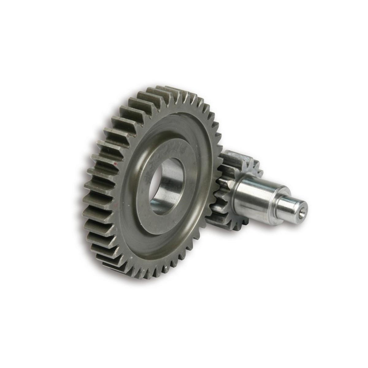 Kit Transmission Secondaire MBK Nitro - Ovetto 15/42 Dents - MALOSSI MHR
