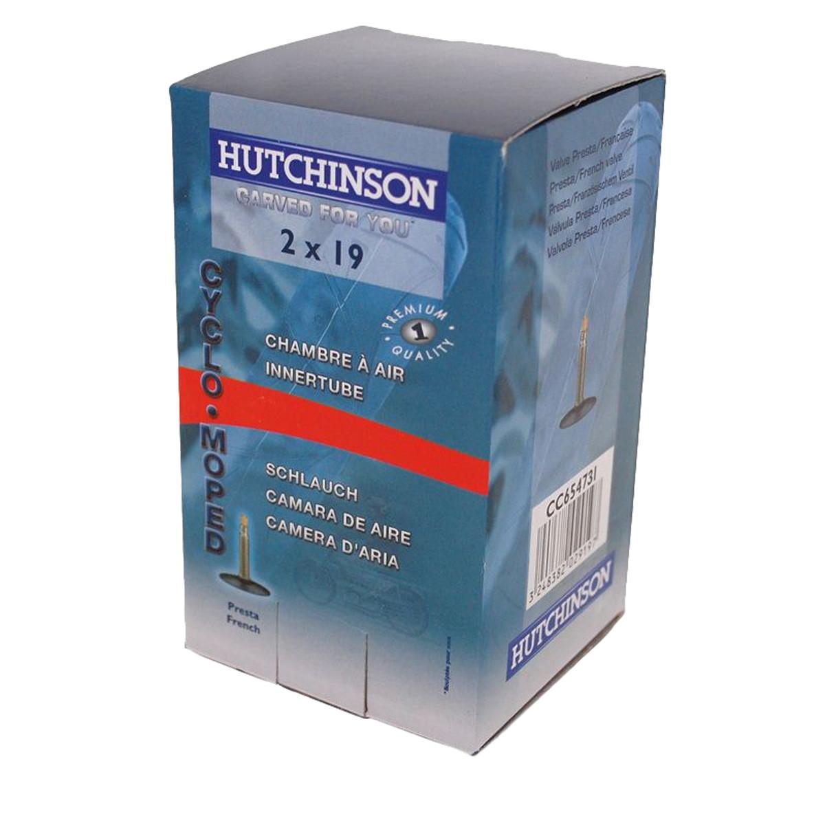 Chambre air 19 pouces hutchinson 2x19 valve presta for Chambre air 13 pouces