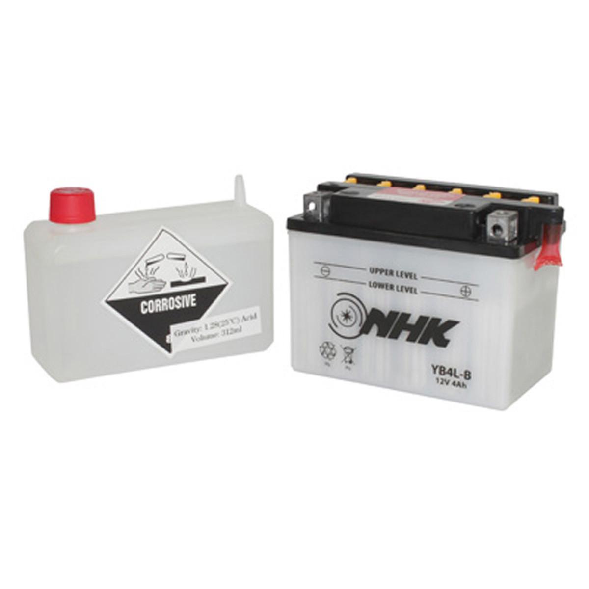 Batterie 12V 4Ah YB4LB - NHK