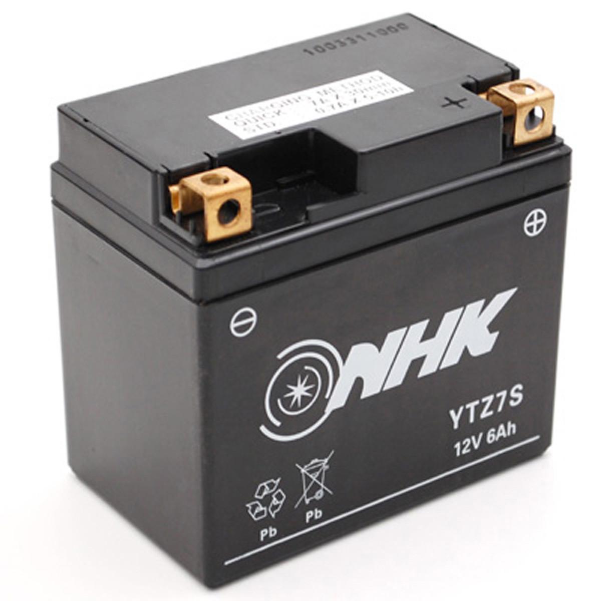 Batterie 12V 6Ah YTZ7S - NHK