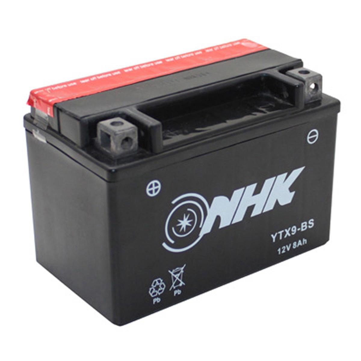 Batterie 12V 8Ah YTX9BS - NHK