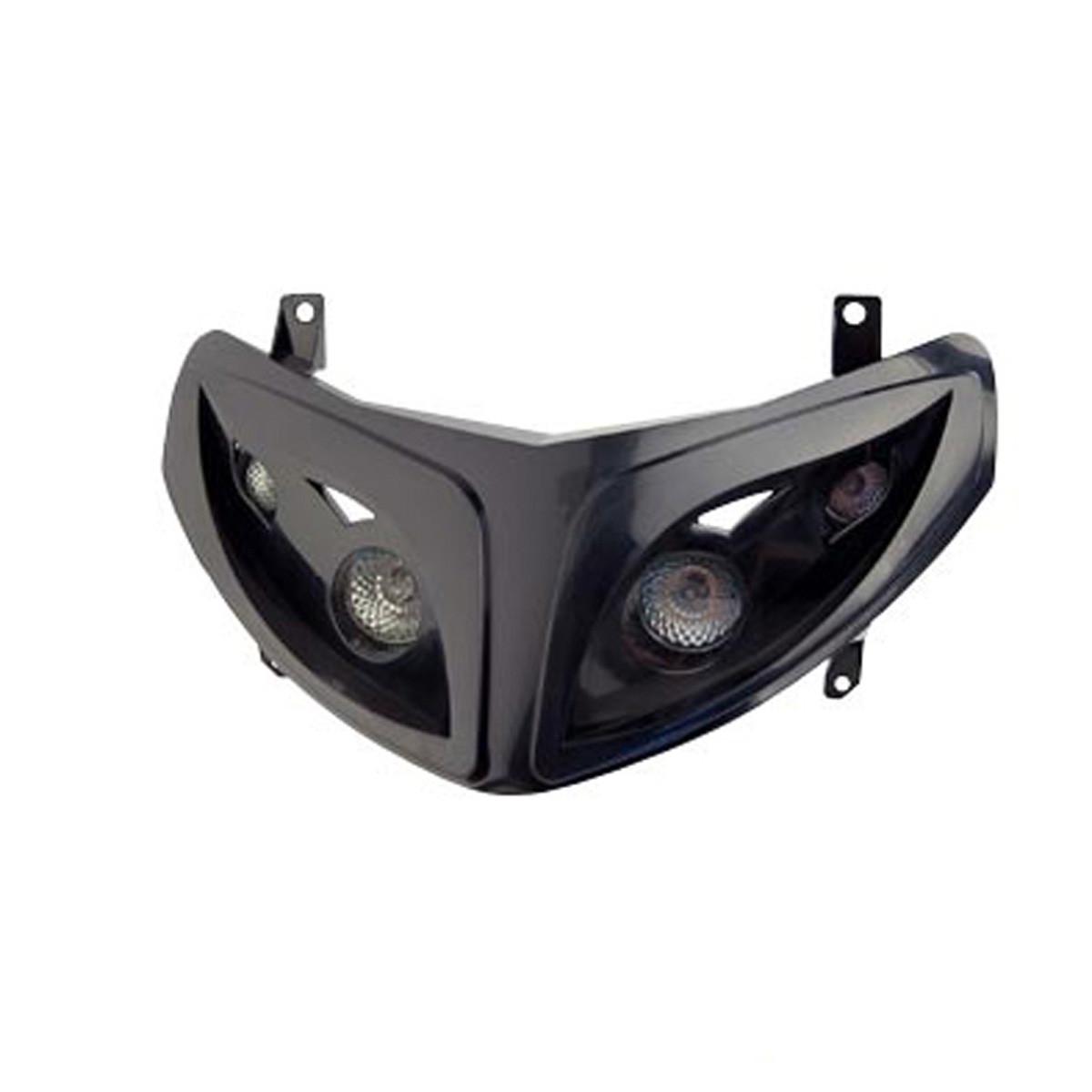 Double Optique PEUGEOT Speedfight 2 noir