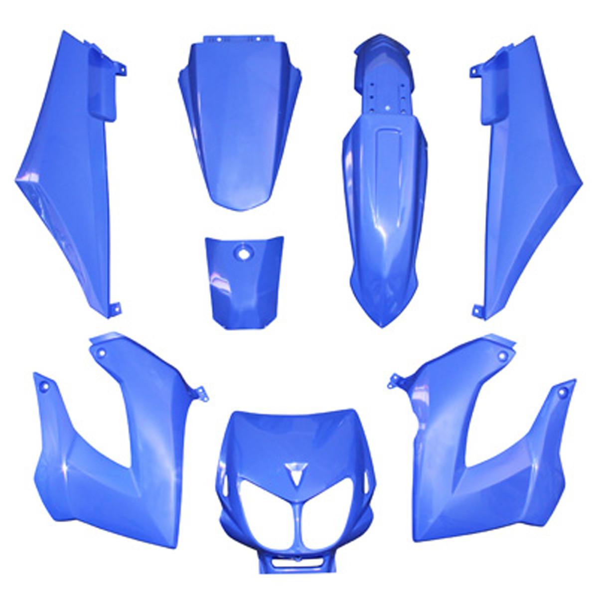 Kit Carénages DERBI Senda avant 2011 - Bleu