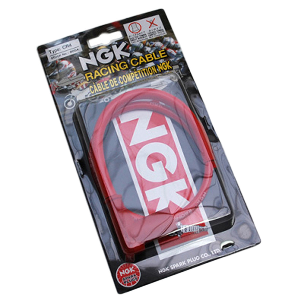 Antiparasite NGK CR4 Racing avec Fil