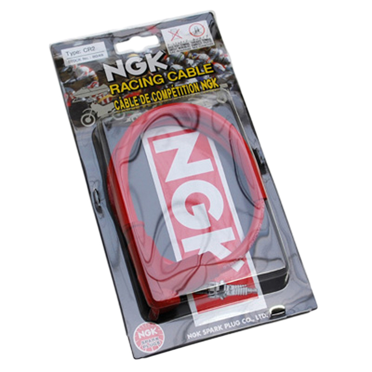 Antiparasite NGK CR2 Racing avec Fil