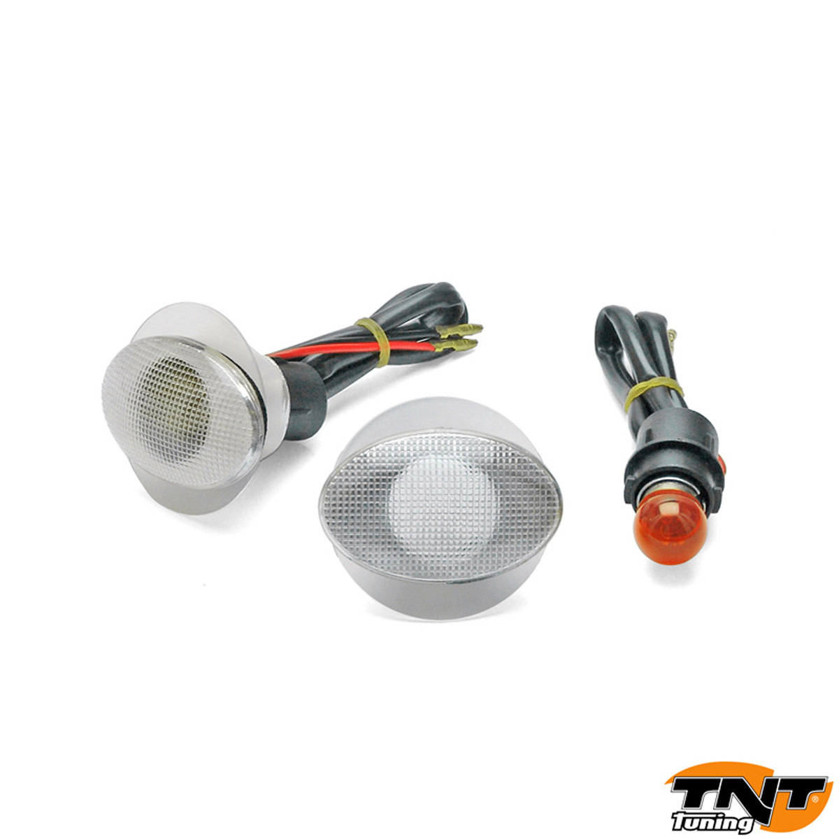Clignotants Ovale Encastrables Transparent - TNT