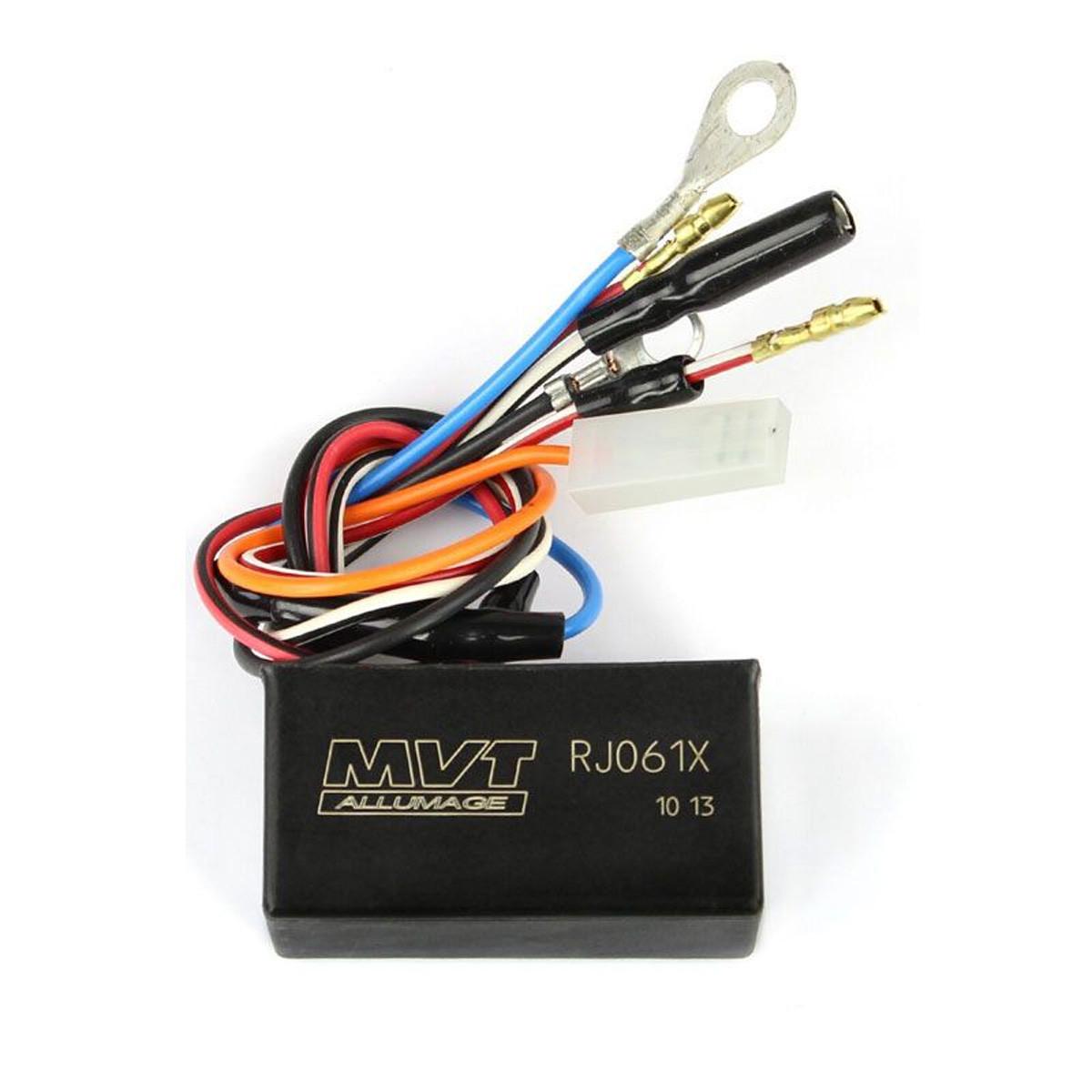 Diagramme Allumage Booster avant 2003 - MVT Millénium EXT106 EXT107