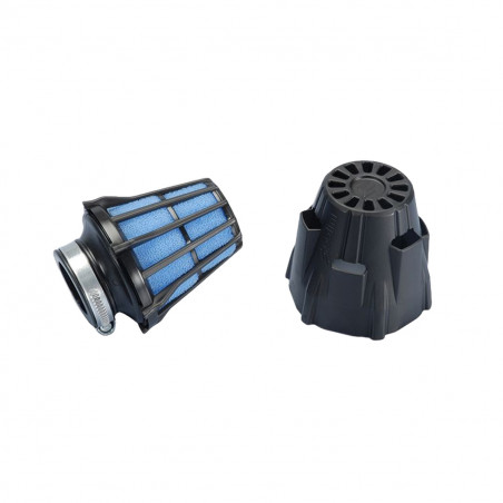 Filtre à Air PHBG Racin - POLINI Blue Air Box 37mm