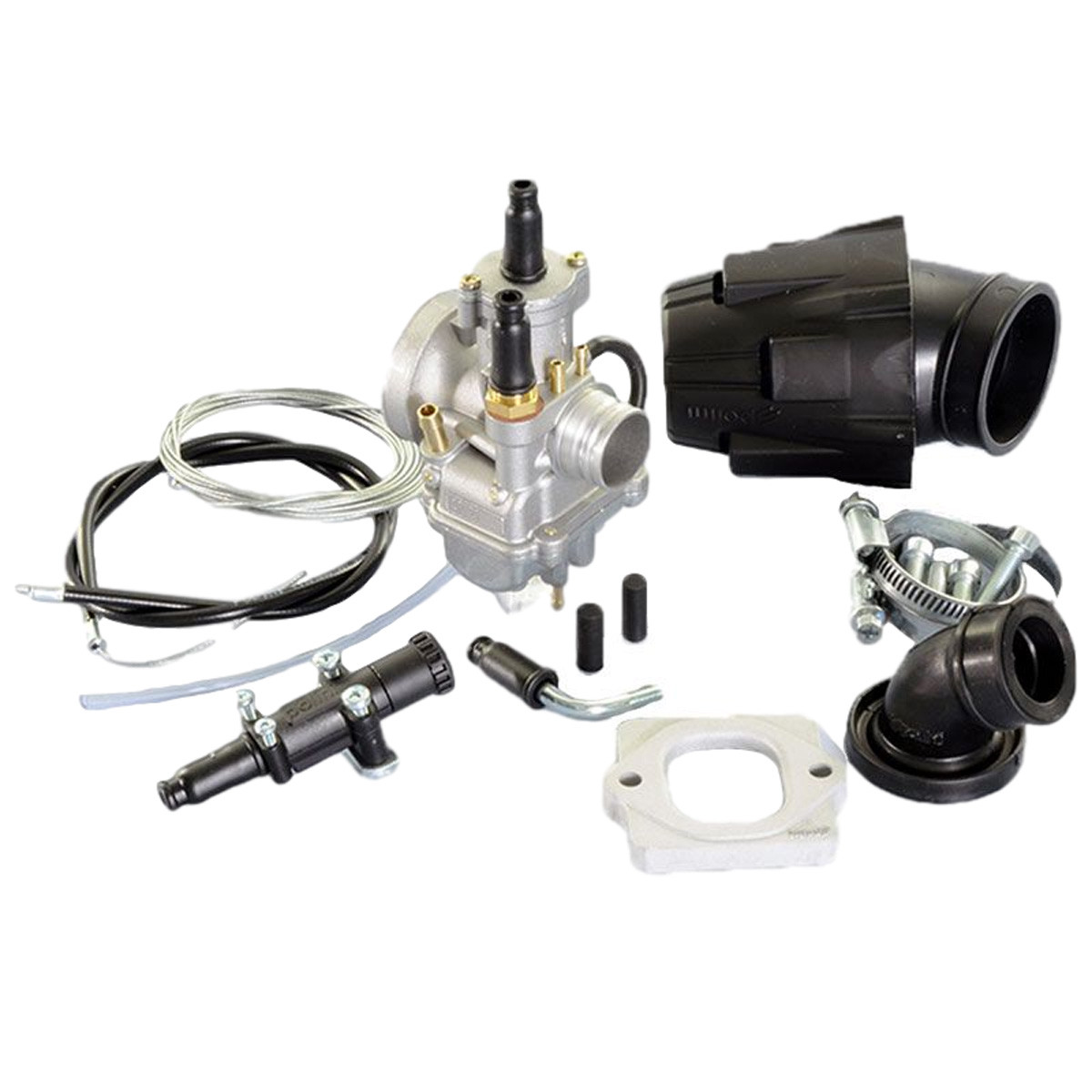 Kit Carburateur PIAGGIO Nrg, GILERA Stalker - POLINI CP 21mm