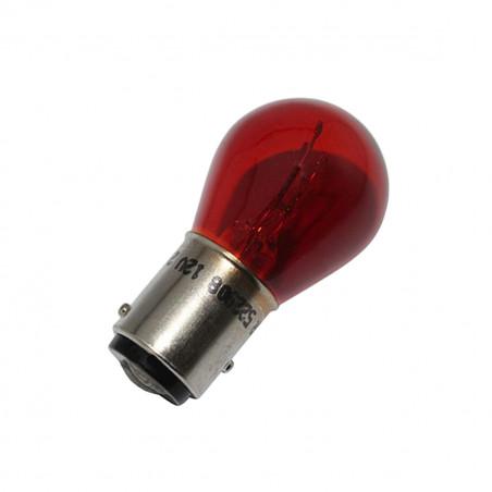 Ampoule 12V 21/5W BAY15D - FLOSSER Rouge