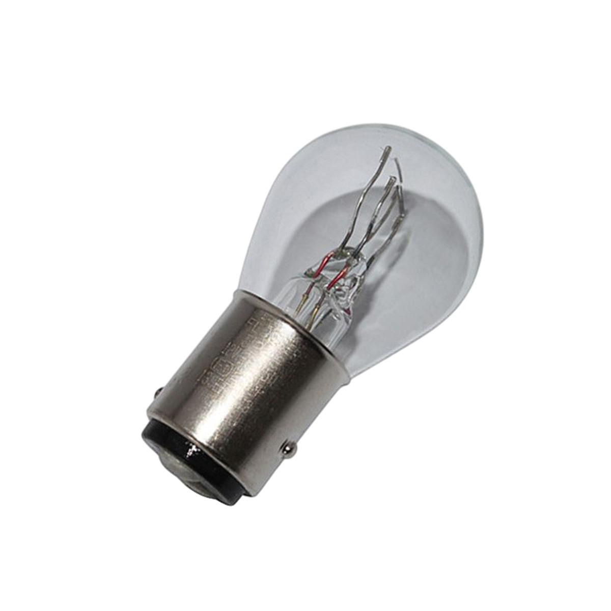 Ampoule 12V 21/5W BA15S - FLOSSER Blanc