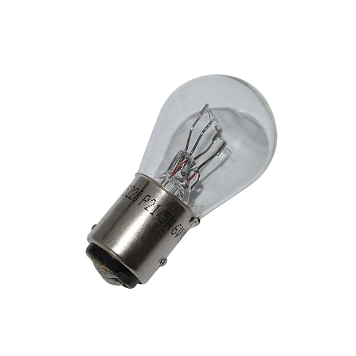 Ampoule 6V 21/5W BA15S - FLOSSER Blanc