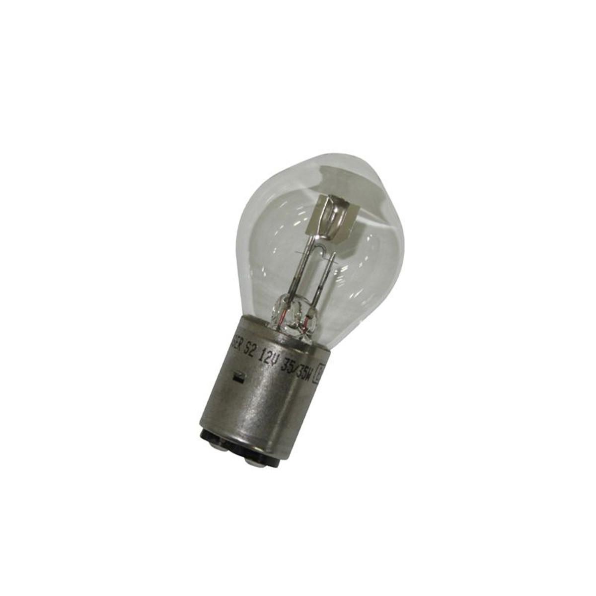 Ampoule 12V 35/35W BA20D S2 - FLOSSER Blanc