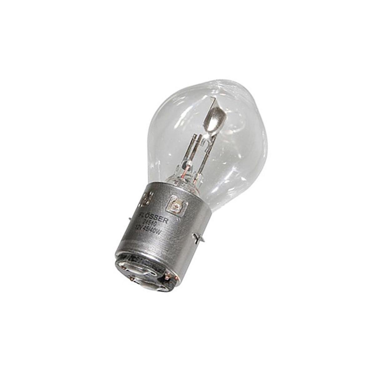 Ampoule 12V 45/40W BA20D S2 - FLOSSER Blanc