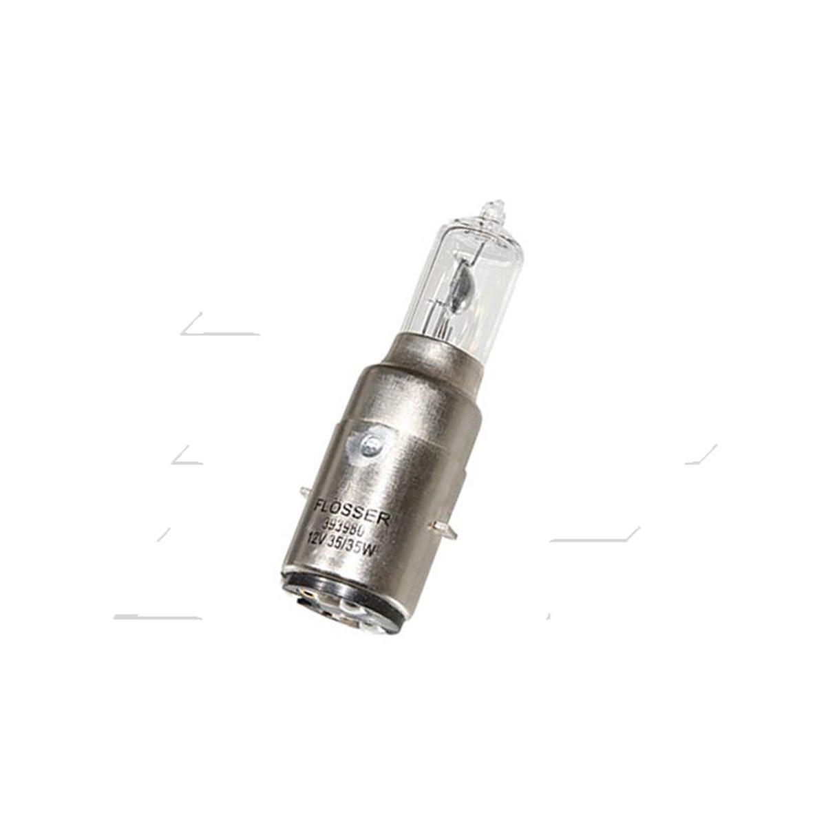 Ampoule 12V 35/35W BA20D S2 - FLOSSER Halogène
