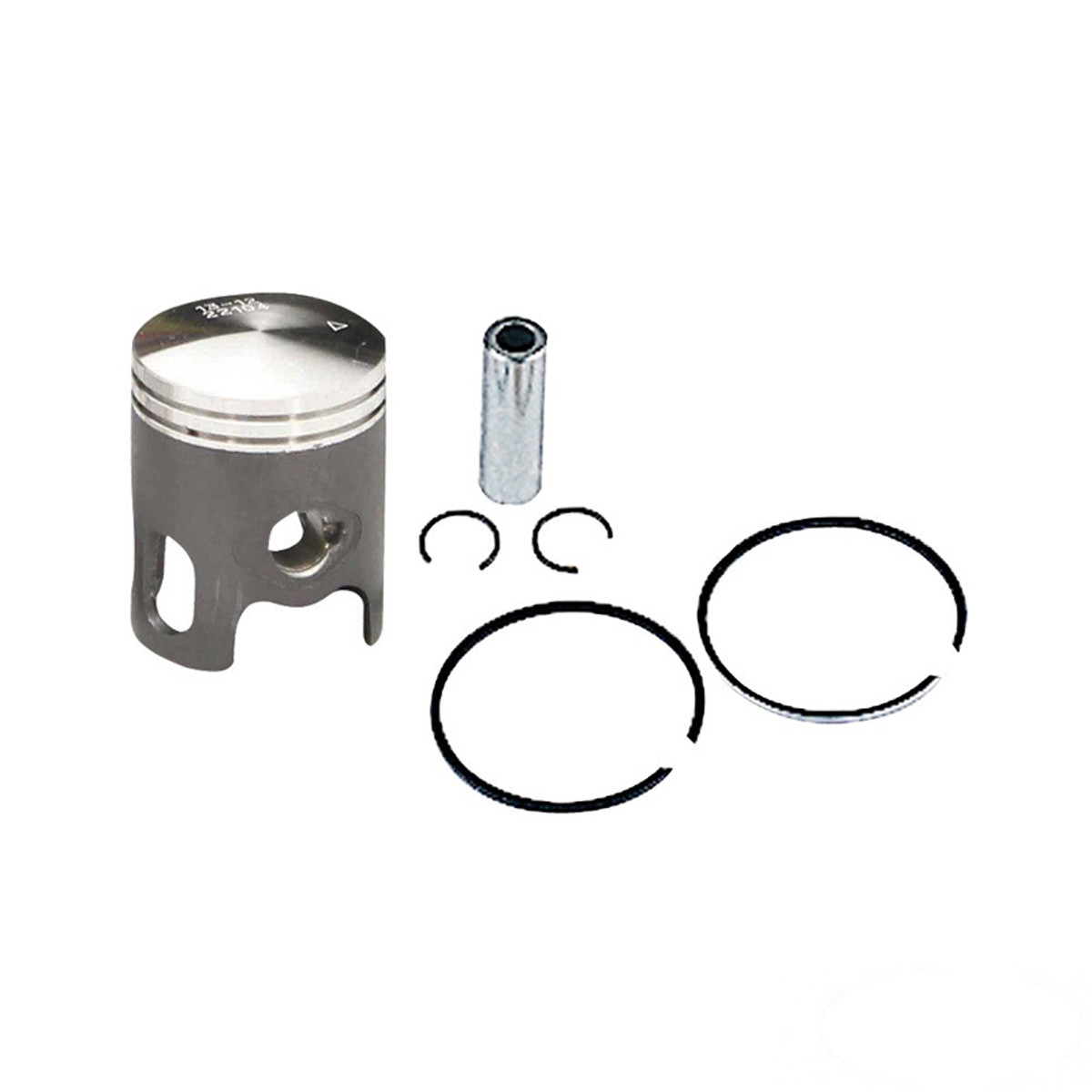 Piston MBK Booster, YAMAHA Bw's D.40 - TOP PERF Black Trophy Fonte