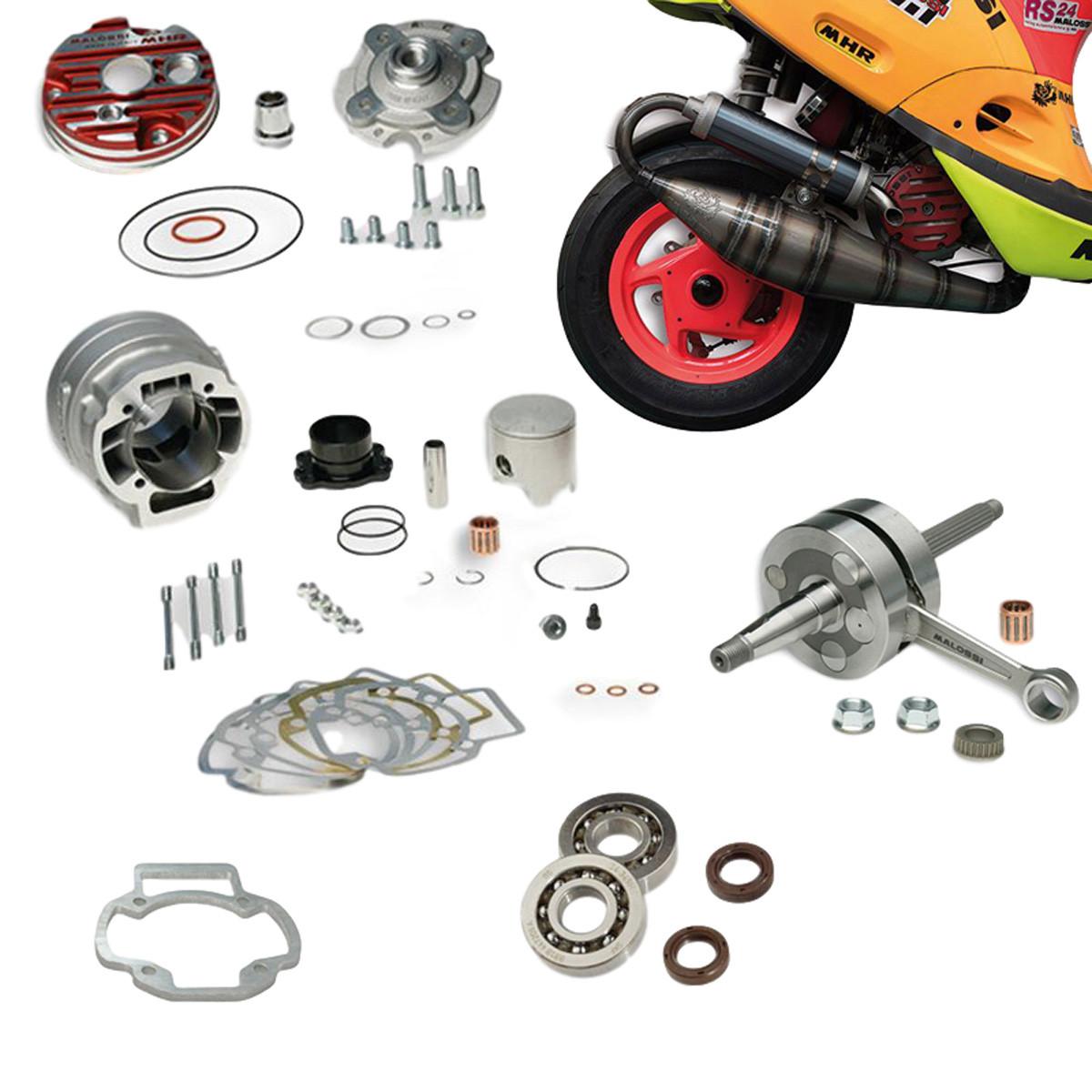 Pack Moteur & Pot 94cc LC PIAGGIO - MALOSSI MHR Big Bore Testa Rossa ///  Bixess™