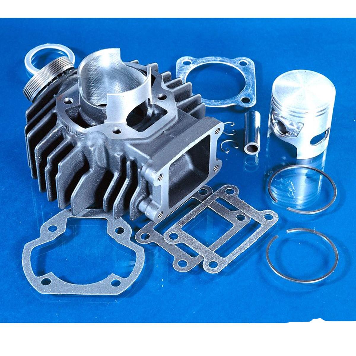 Cylindre Kit YAMAHA Chappy 70cc AC - POLINI Fonte