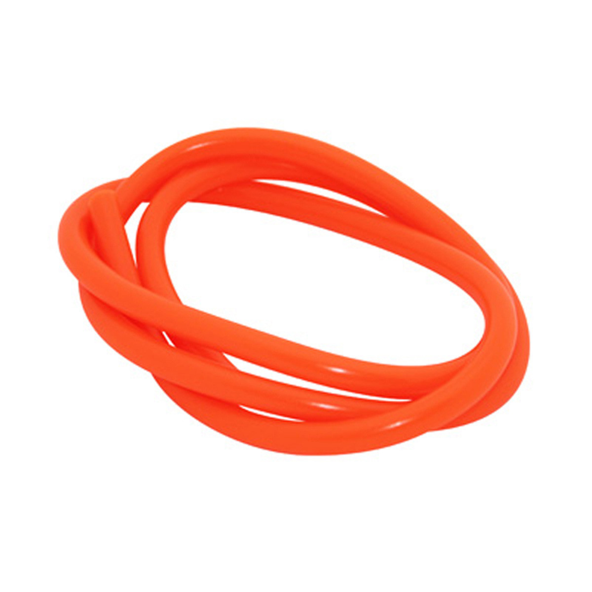 Durite essence - Diamètre 5mm Orange Fluo