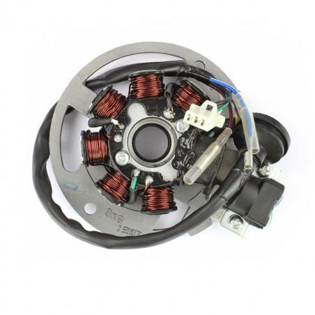 Stator Allumage TNT Motor Grido Roma Strike 2T - 7 pôles avec platine - 1 connecteur + 2 fils