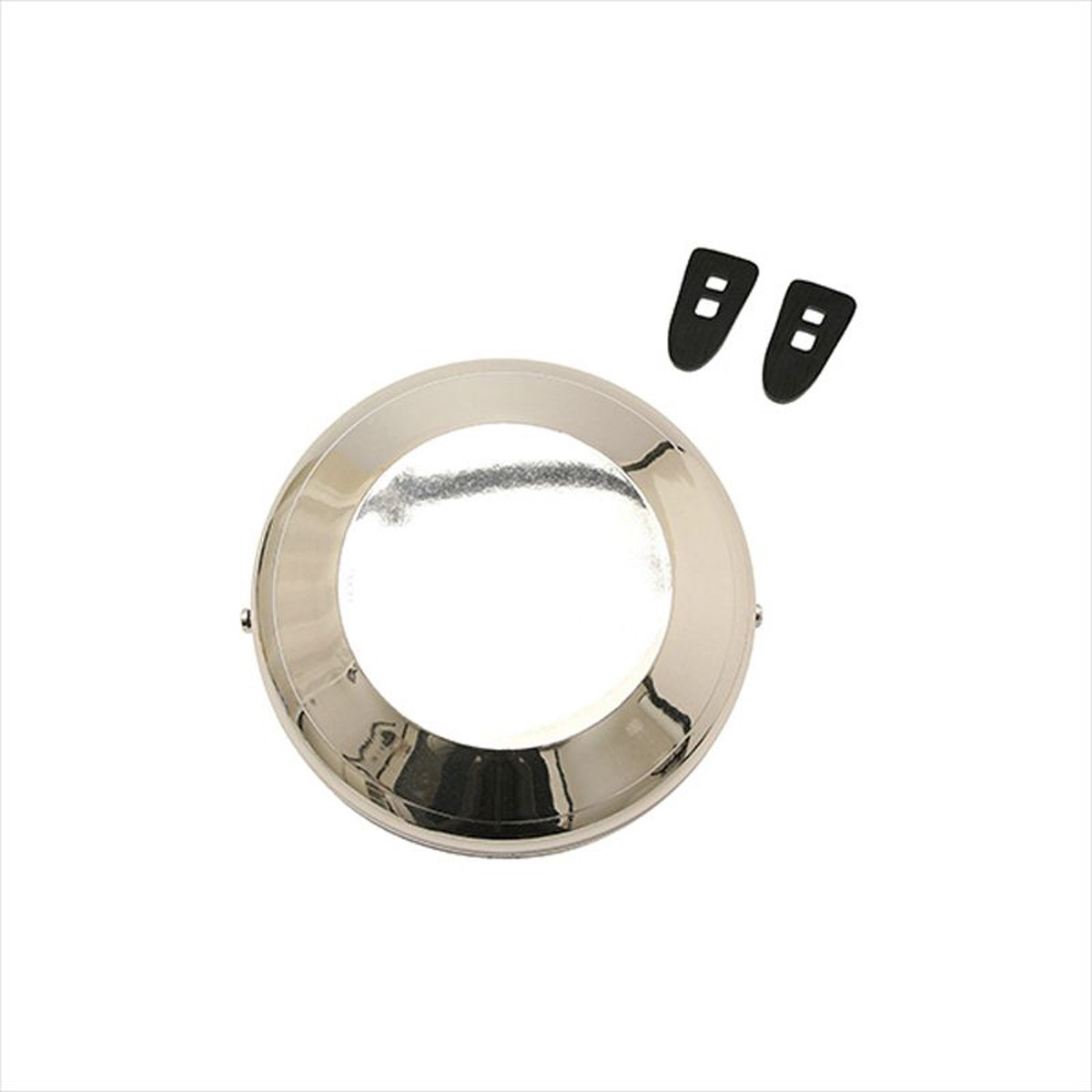 Cache Volant Magnétique MBK Motobécane Motoconfort - CHROME