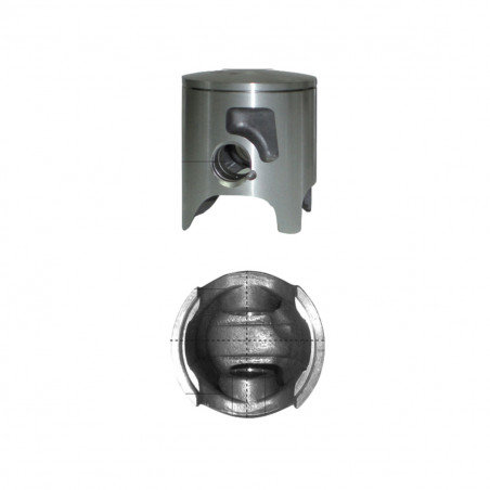 Piston 48mm à 49.5mm PIAGGIO Typhoon Sfera Zip 2T AC - BARIKIT Monosegment avec Lumières