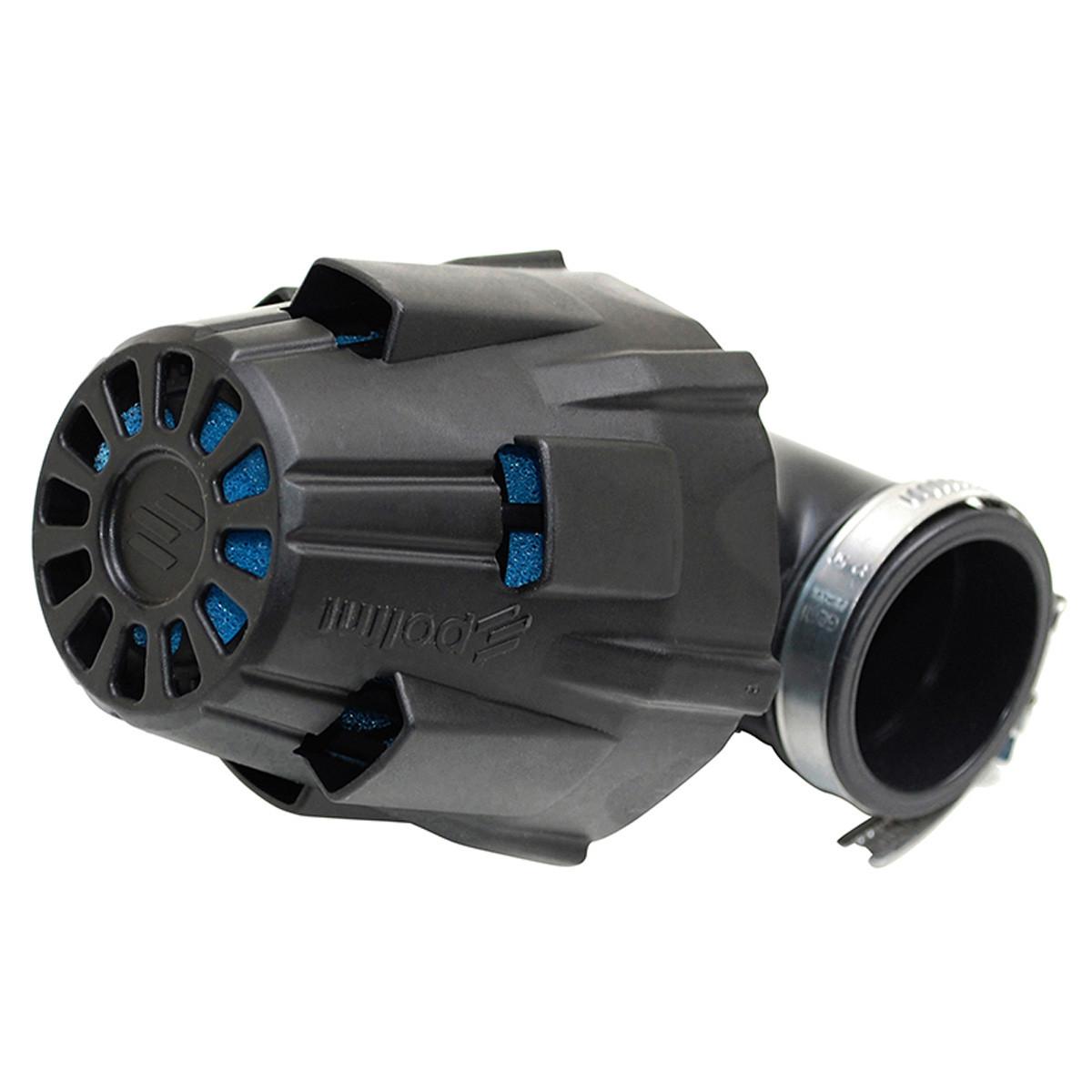 Filtre à Air PHBG Racing / PHVA / PHBN - POLINI Blue Air Box 37mm coudé 90 degrés