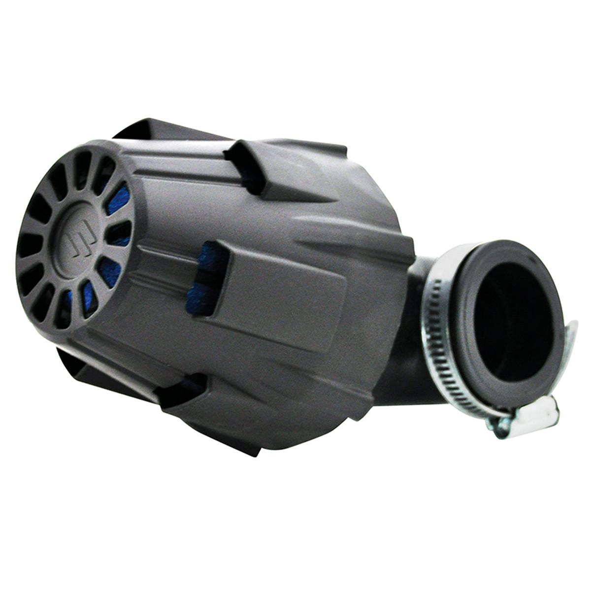 Filtre à Air PHBG - POLINI Blue Air Box 32mm coudé 90 degrés Long 135mm