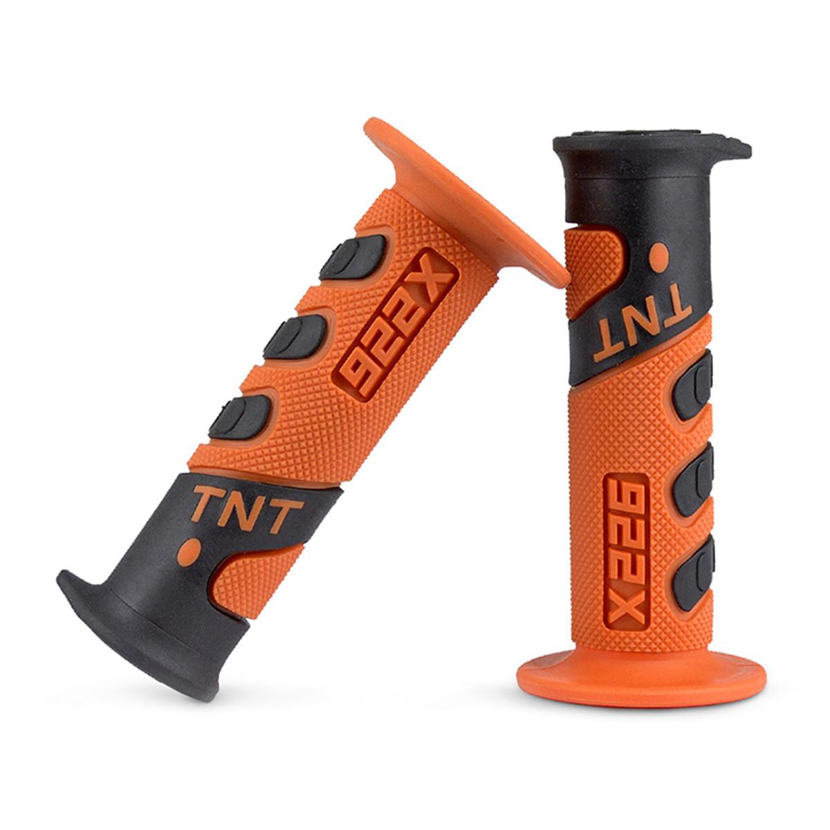 Poignées de Guidon - TNT 922X Orange / Noir