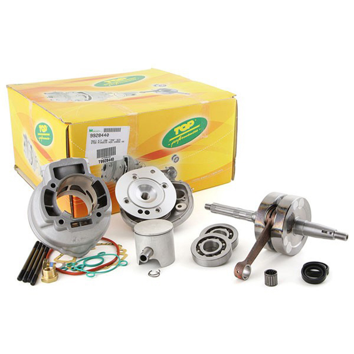 Pack Moteur 86cc Piaggio NRG LC - Top Perf Racing Alu Course 44mm