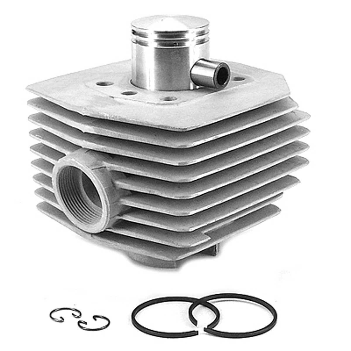 Cylindre 50cc MBK 51 AV10 AC - Carenzi Alu