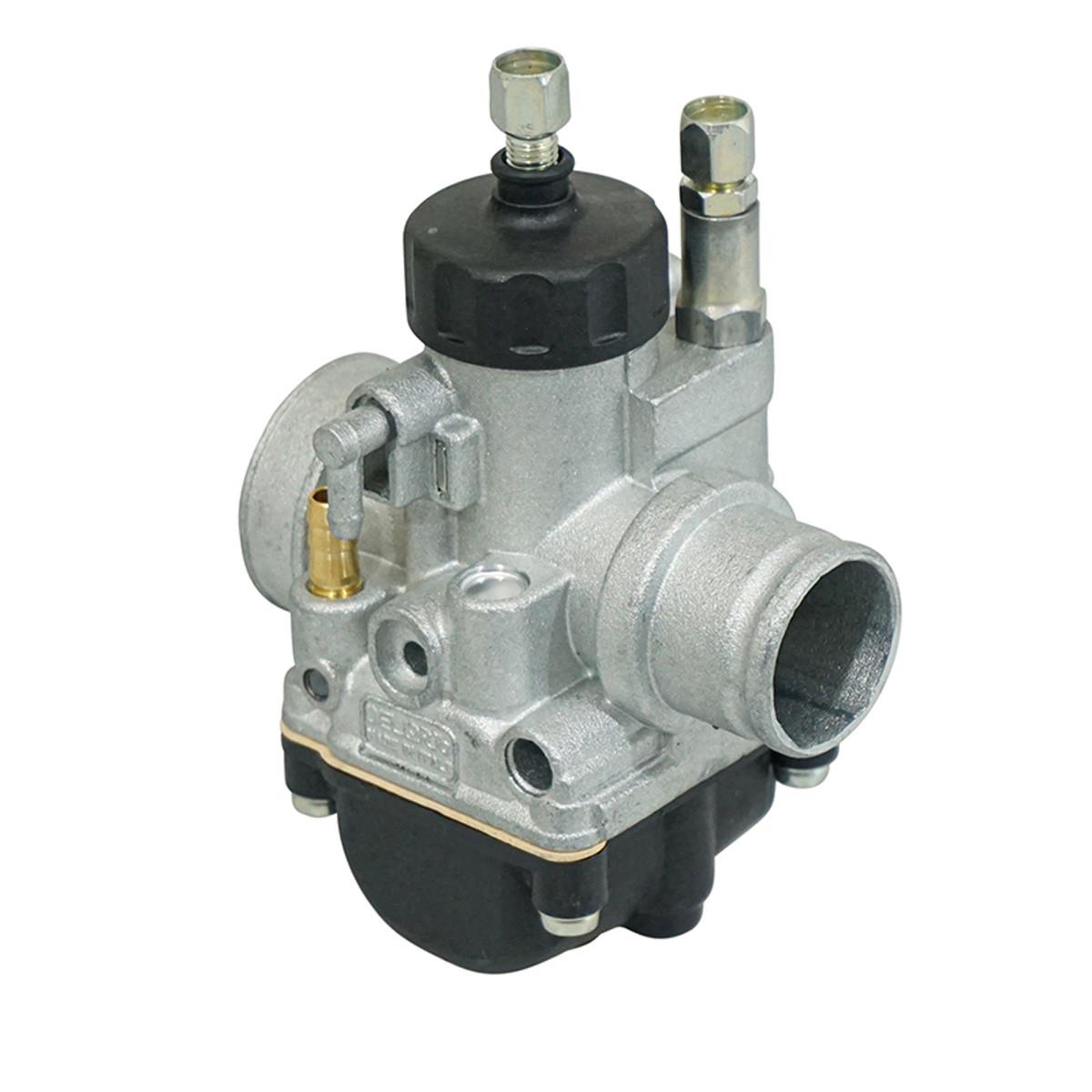 Carburateur 21mm PHBG BS - Dellorto Montage souple / couvercle rond
