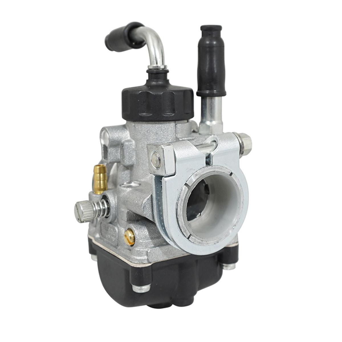 Carburateur 19.5mm PHBG AD - Dellorto Montage Rigide / Starter à câble / couvercle rond