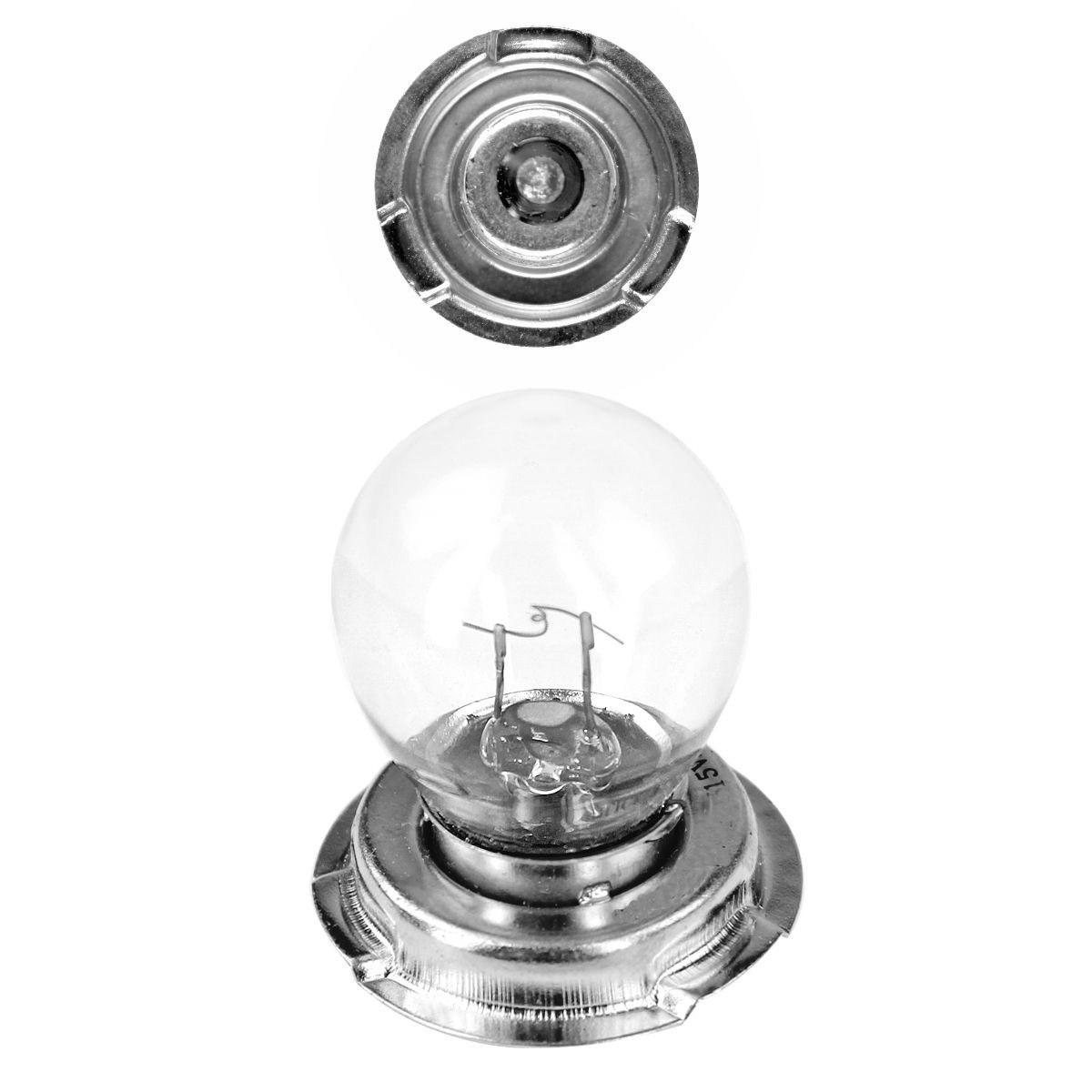 Ampoule 12V 25W P26S à Collerette - FLOSSER Blanc