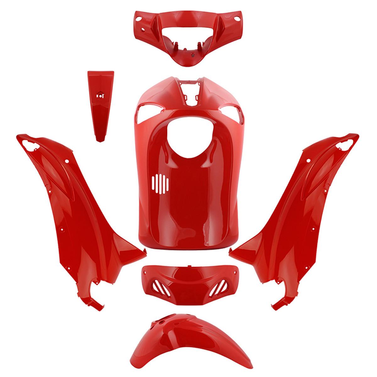 Kit Carénages PIAGGIO Liberty - Rouge 7 pièces