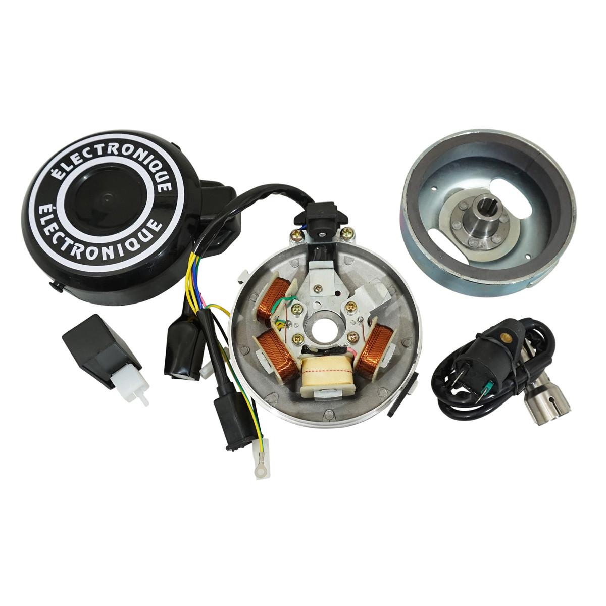 Allumage PEUGEOT 103 12V - Electronique Gros Cône pour Origine à rupteur