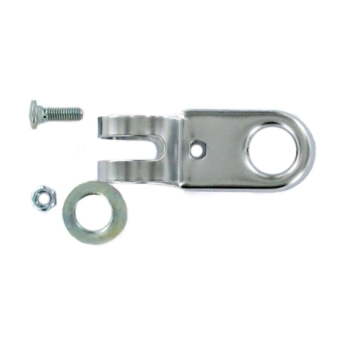 Support Compteur à collier sur guidon MBK Peugeot - 22mm