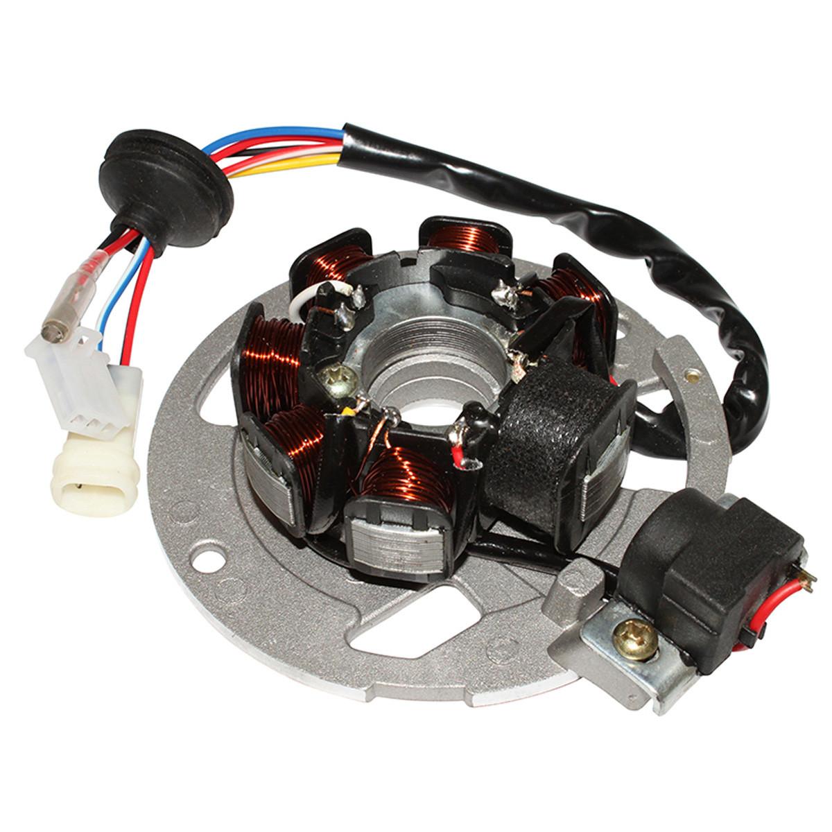Stator Allumage CPI Keeway - 7 Pôles 2 connecteurs + 1 fil