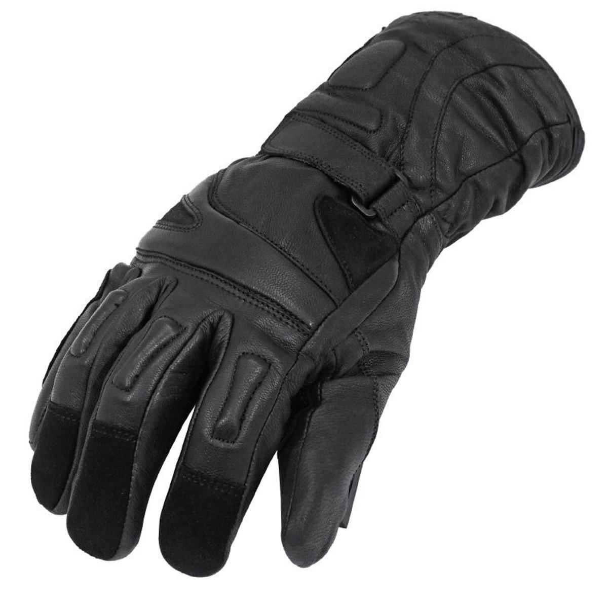 Gants Moto - ADX Alaska Hiver cuir Noir