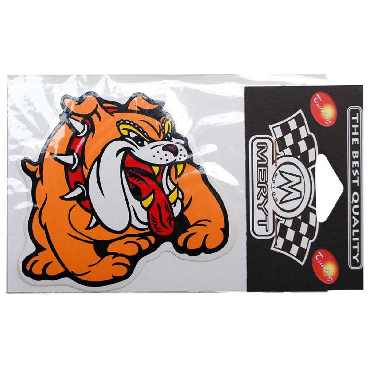 Autocollant / Sticker - MERYT Bulldog Grand 10 x 10.5cm