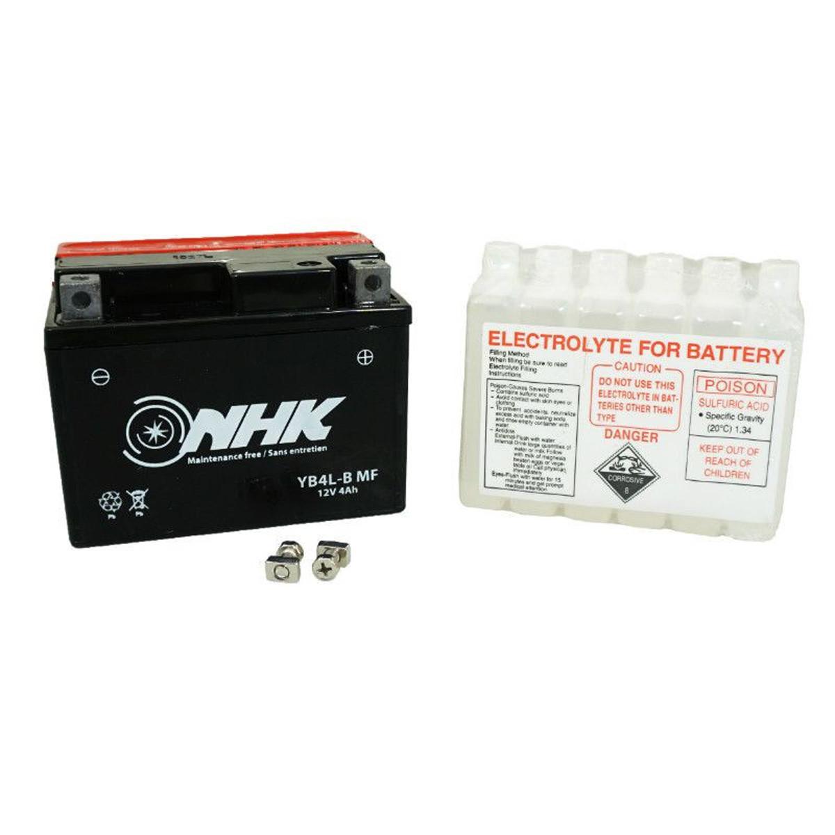 Batterie 12V 4Ah YB4-LB - NHK sans entretien